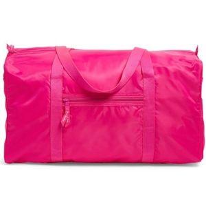 Vera Bradley Peony Pink Packable Large Duffel Bag